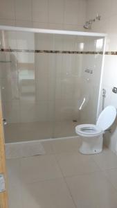 A bathroom at Hotel Paulista