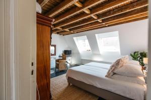 A bed or beds in a room at La gloria no. 10