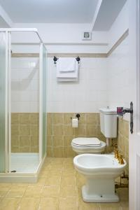 Salle de bains dans l'établissement Quinz - Locanda Al Lago