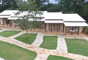 Jardín al aire libre en Pousada Verde do Mato