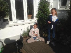 Børn der bor på Vejle Golf Bed & Breakfast