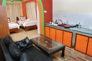 A kitchen or kitchenette at Thamel Backpackers Home