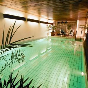 Der Swimmingpool an oder in der Nähe von Ferienhaus Stein