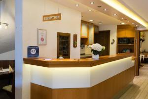 Lobby/Rezeption in der Unterkunft Landgasthof Zum Stern