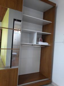 A kitchen or kitchenette at Casa Pontal Ilheus