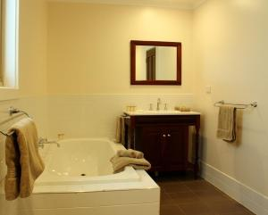 A bathroom at Bungaree Station