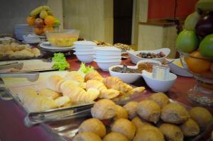 Frühstücksoptionen für Gäste der Unterkunft Hotel Europa