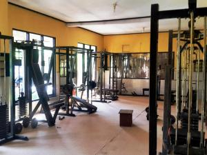 The fitness center and/or fitness facilities at Doubleyou Home Stay
