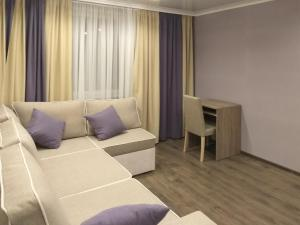 A seating area at Apartment on Litovskii Val