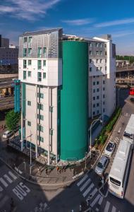 Hotel Reseda с высоты птичьего полета