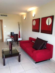Zona de estar de OLAS APARTMENT Holidays Torremolinos