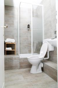 A bathroom at Main Hotel Frankfurt City Hauptbahnhof