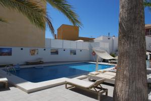 The swimming pool at or near Hotel Moli Boutique