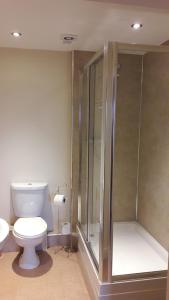 A bathroom at The Old Brewhouse