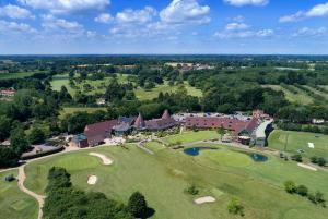 A bird's-eye view of Ufford Park Hotel, Golf & Spa