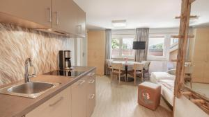 Küche/Küchenzeile in der Unterkunft Rosentalerhof Hotel & Appartements