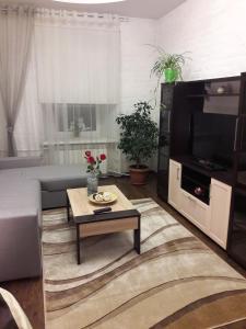 "A seating area at ""Петербургский прием"""