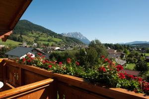A balcony or terrace at Landhaus Amadeus