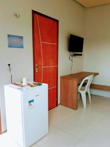 A bathroom at Torre do Sol Park Hotel