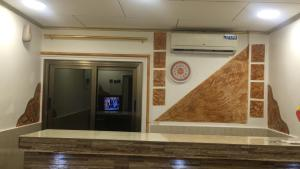 The lobby or reception area at Royal Hotel