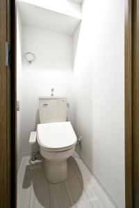 A bathroom at Osaka City Hotel