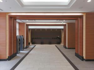 Area lobi atau resepsionis di Almont Hotel Kyoto