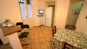 A seating area at Appartamenti Bardonecchia