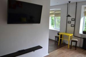 Телевизор и/или развлекательный центр в Apartment in the center