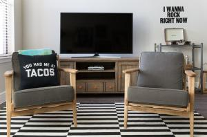 A television and/or entertainment center at The Guild East Side | Arnold