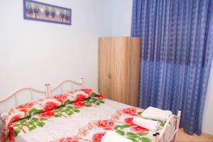 Casa Vacanze Etna tesisinde bir odada yatak veya yataklar