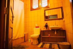 A bathroom at More Than A Drop