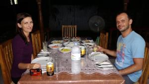 A restaurant or other place to eat at Elephants Fence Guest & Safari Services