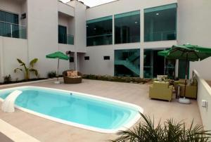 The swimming pool at or near Genova Palace Hotel