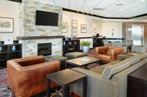 The lounge or bar area at Four Points by Sheraton Halifax