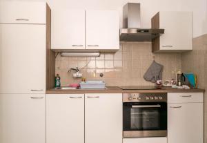 Kuhinja oz. manjša kuhinja v nastanitvi Apartma Vida