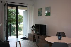 TV/Unterhaltungsangebot in der Unterkunft Karlín Apartment