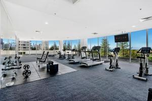 The fitness center and/or fitness facilities at ULTIQA Air On Broadbeach