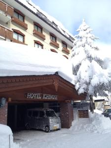Hotel Ichinose during the winter