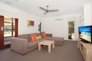 A seating area at 60 Beachway Parade, Marcoola, 500 BOND, Linen supplied