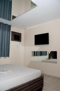 Cama ou camas em um quarto em Hippus Motel (Adult Only)