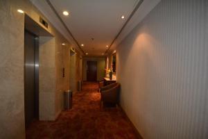 منطقة الاستقبال أو اللوبي في فندق جاد المدينة