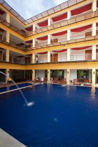 The swimming pool at or near Keeree Ele Resort