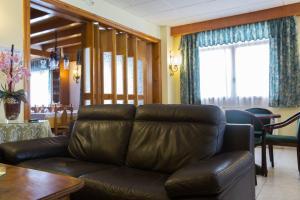 Zona d'estar a Hotel Bruna