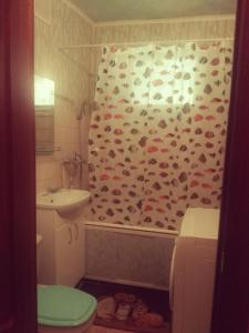 A bathroom at 1-rooms Apartment on Frunzie 24