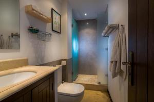 A bathroom at La Posada del Angel