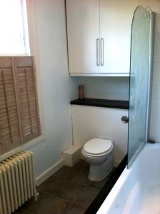 A bathroom at Emirates-Arsenal