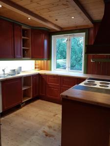 Kjøkken eller kjøkkenkrok på Bakkeberg