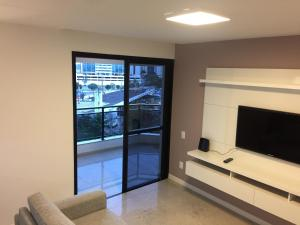 A television and/or entertainment center at Golden Gate Flat