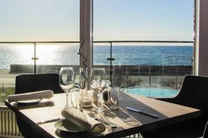 En restaurant eller et andet spisested på Griffen Spa Hotel
