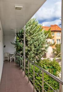 Балкон или терраса в Guest house Bavaria